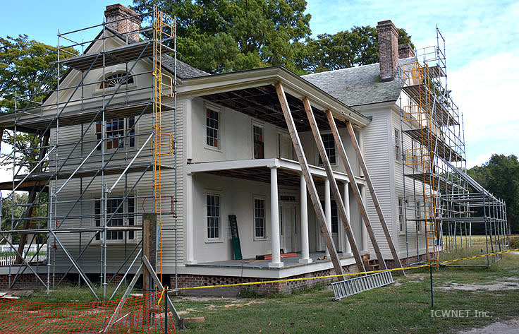 Restoration underway at Somerset Place
