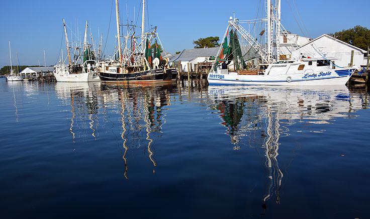 Fishing Boats In Oriental Nc